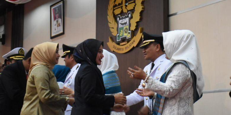 Resmi Pimpin Luwu, Bupati Indah Ucapkan Selamat ke Basmin dan SBj