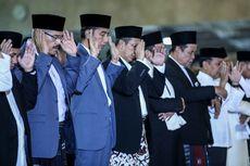Jokowi dan Iriana Shalat Idul Adha di Kebun Raya Bogor