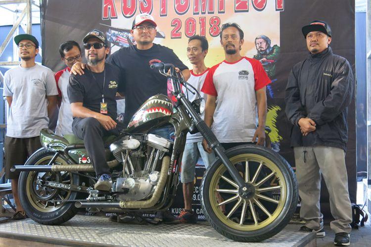 Chopper Belo Negoro jadi luck draw Kustomfest 2018