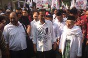 Kemeja Putih Bersablon dan Sneakers Lokal Temani Jokowi ke KPU