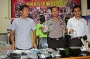 Polisi Bongkar Pabrik Ekstasi di Aceh Utara