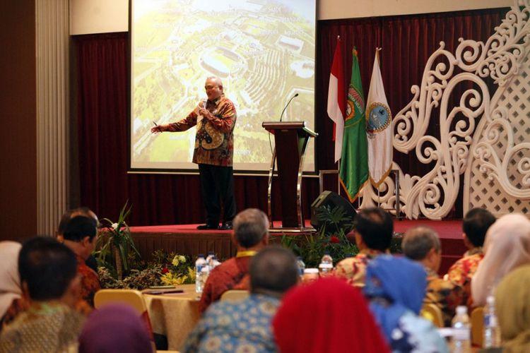 Sekretaris daerah se-Indonesia menggelar rapat koordinasi nasional di Palembang pada 7-9 September 2017