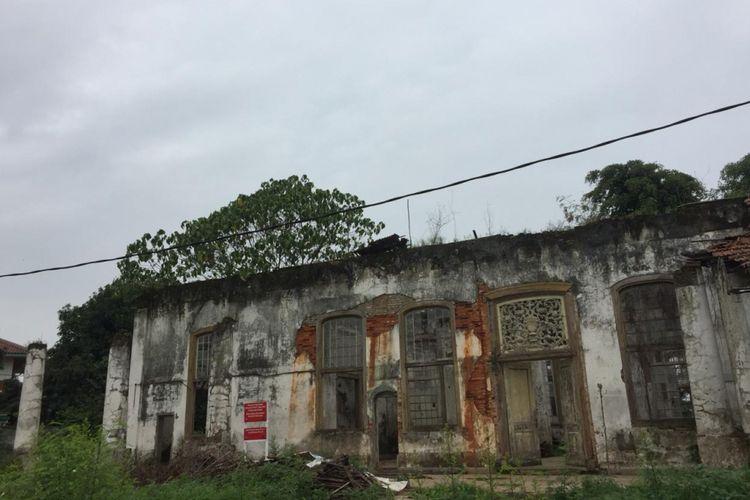 Gedung Tinggi Rumah Cimanggis, Depok, Senin (14/1/2019).