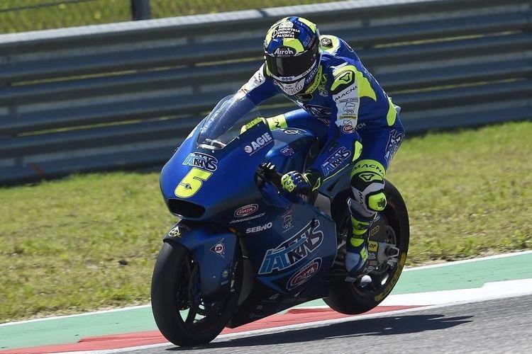 Andrea Locatelli menjadi yang tercepat di FP1 dengan catatan waktu 1 menit 36.894 detik.