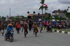 Kerusuhan di Timika Mimika, 2 Aparat Terluka dan Dilarikan ke Rumah Sakit