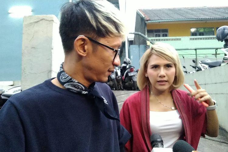 Aming dan Evelyn saat ditemui di kawasan Tendean, Jakarta Selatan, Rabu (15/5/2019).