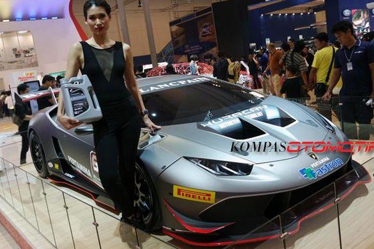 Pelumas Pertamina Fastron Platinum dikembangkan bersama Lamborghini.