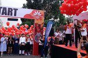 GranDhika Run 2018, Balon dan Kostum Unik Hiasi Flyover Antasari