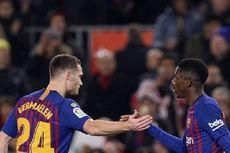 Cedera Hamstring, Ousmane Dembele Absen Bela Barcelona Selama 1 Bulan