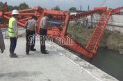 'Launcher Girder' Jembatan 2 Tol di Jombang Ambruk, Diduga karena Angin Kencang