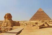 Tak Sempurna, Piramida Giza Ternyata Miring Sebelah