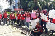Pesangon Belum Dibayarkan, Eks Karyawan 7-Eleven Unjuk Rasa