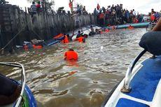 Kapal Cepat Terbalik di Sungai Sesayap, 8 Penumpang Tewas