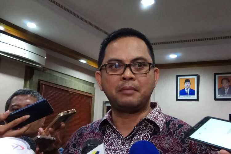 Komisioner Komisi Pemilihan Umum (KPU) RI Viryan ditemui di kantor KPU RI, Jakarta, Jumat (6/10/2017).