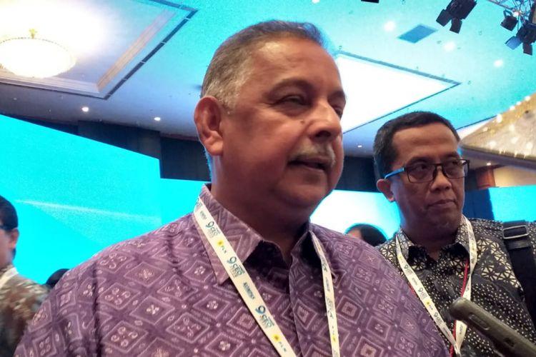 Direktur Utama PT PLN (persero) Sofyan Basir saat diwawancarai di Jakarta, Selasa (27/11/2018).