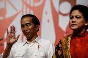 Ditanya Siapa Calon Pendampingnya, Jokowi Sebut Iriana