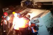 4 Jam Terjepit Lokomotif, Jasad Masinis KA Sancaka Berhasil Dievakuasi