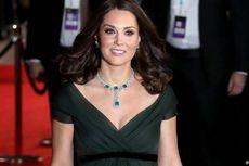Tak Pakai Gaun Hitam di Bafta Award 2018, Kate Middleton Dikritik