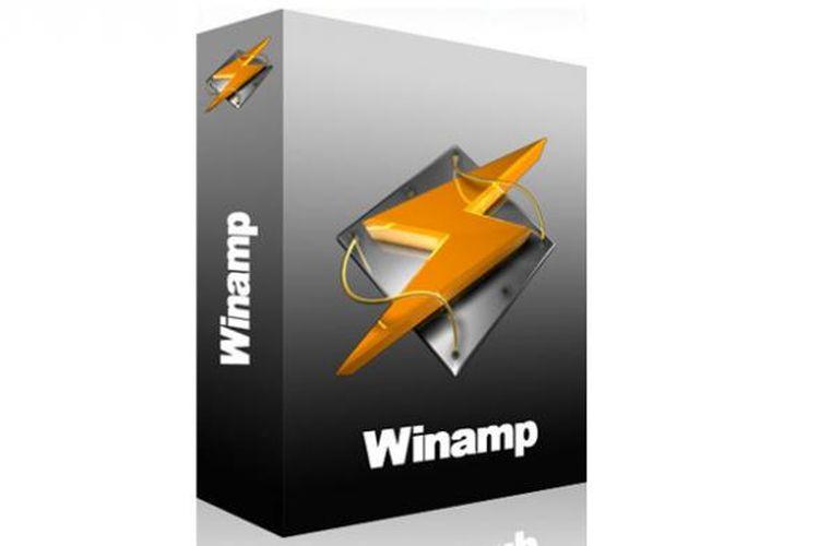 Perangkat lunak Winamp Pro yang dirilis pada 2011