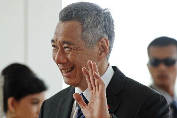 Perdana Menteri Singapura, Lee Hsien Loong.