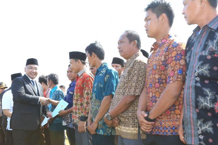Menteri Eko Ajak Masyarakat Bengkulu Membangun Desa