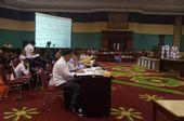 Pleno KPU Kabupaten Bogor Diwarnai Aksi Protes Sejumlah Peserta Rapat