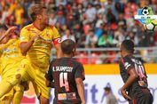 Hasil Liga 1, Sriwijaya FC dan Persipura Berbagi Angka