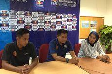 Hartono Legowo Sriwijaya FC Dikalahkan Madura United di Jakabaring