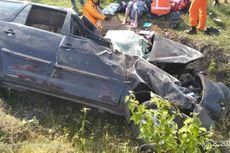 Kecelakaan di Tol Caruban-Wilangan, 3 Luka Berat, 5 Luka Ringan