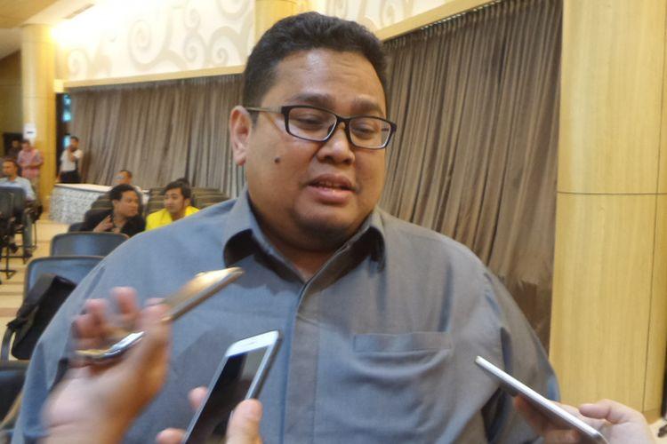 Anggota Bawaslu Rahmat Bagja di Kampus UI Depok, Selasa (19/12/2017).