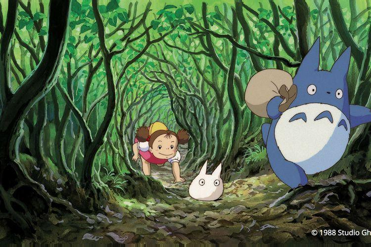 Salah satu karya Studio Ghibli yang legendaris, My Neighbor Totoro