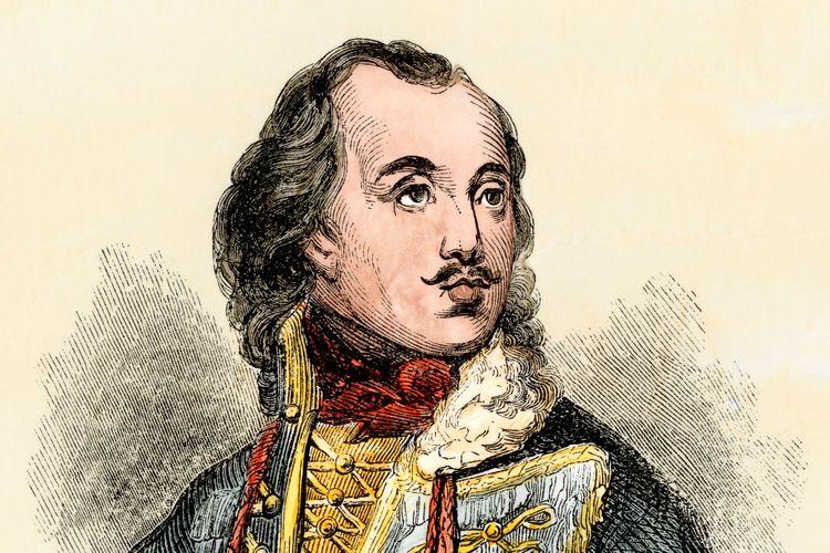 Casimir Pulaski. Jenderal Polandia yang menjadi pahlawan dalam Perang Kemerdekaan Amerika Serikat (AS).