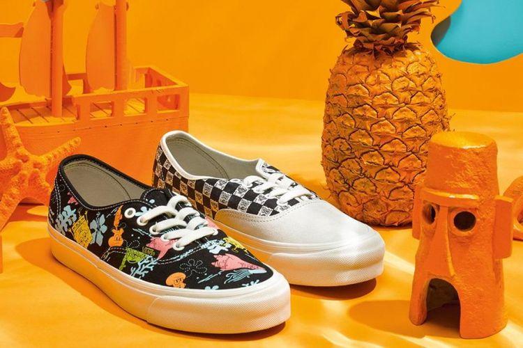 Vans menjadikan karakter SpongeBob SquarePants sebagai inspirasi untuk seri sepatu terbarunya.