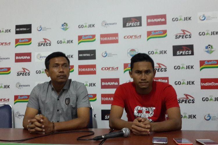 Bali United Menang, Widodo Akui Anak Asuhnya Sempat Tertekan