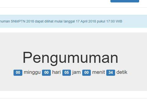 Sore Ini, Hasil SNMPTN Sudah Bisa Dilihat!