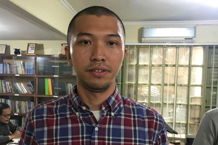 Pengacara LBH Pers Gading Yonggar Ditya.