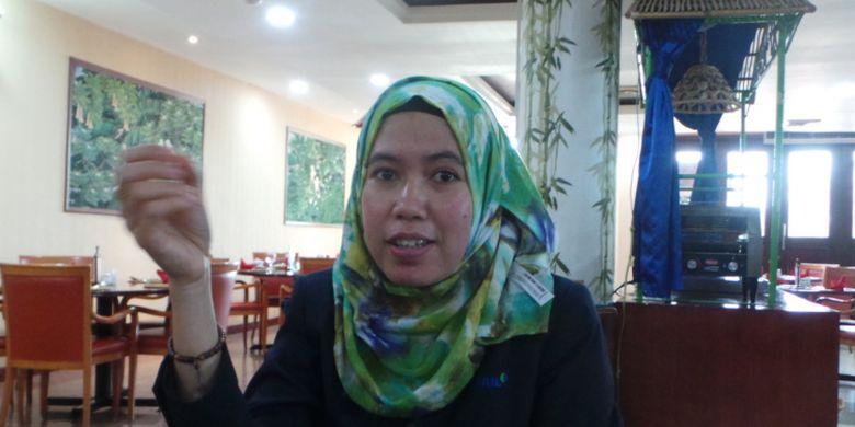 Nani, lulusan S-2 Teknik Kimia yang kini menjadi asisten manajer di RAPP.