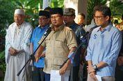 Prabowo Imbau Semua Pihak Menahan Diri dan Tak Lakukan Provokasi