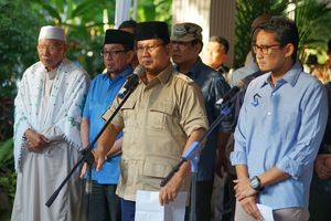 Apa yang Dibahas Prabowo Saat Bertemu Kalla? Ini Kata Sandiaga...