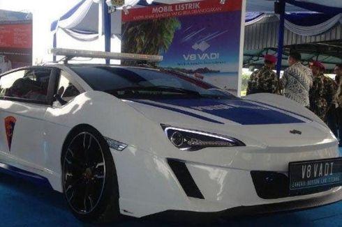 Mobil Listrik V8 Vadi Buatan Itenas Diluncurkan, Dilirik TNI AL