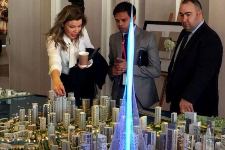 Ketinggian The Creek Harbour Tower mencapai 928 meter atau 100 meter lebih tinggi dari Burj Khalifa, gedung tertinggi di dunia saat ini.