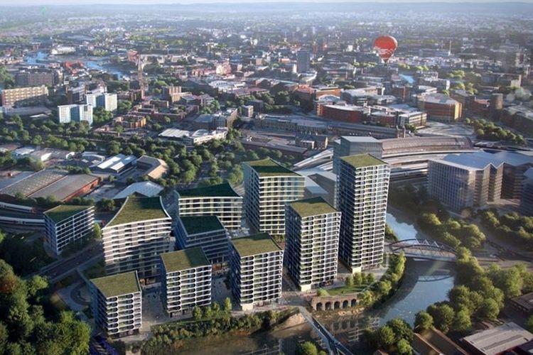 Desain Bristol Arena.
