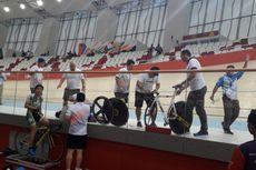 Balap Sepeda ATC 2019, Lima Pebalap Terlibat Tabrakan Beruntun