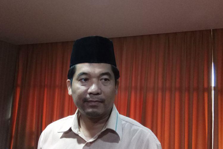 Direktur Eksekutif Lingkar Madani (Lima) Ray Rangkuti Saat Ditemui di Jakarta, Senin (14/8/2017).