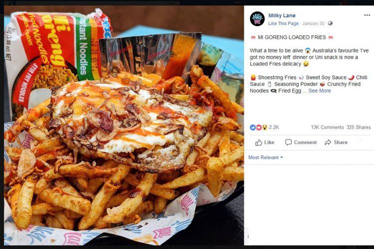 Indomie Load Fries