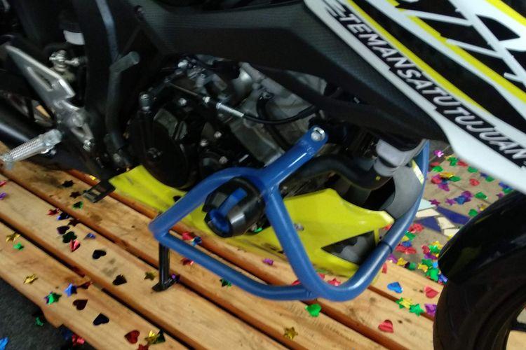 Suzuki Touring Edition sudah membawa beragam aksesori untuk kebutuhan touring