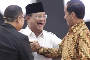Survei 'Kompas': Jokowi 55,9 Persen, Prabowo 14,1 Persen