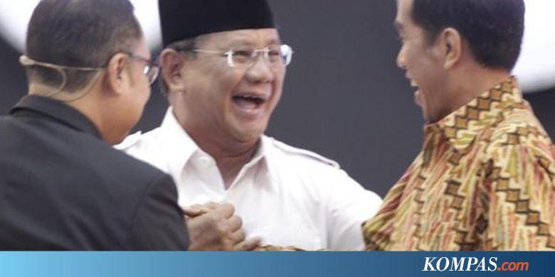 """Survei """"Kompas"""": Jokowi 55,9 Persen, Prabowo 14,1 Persen"""