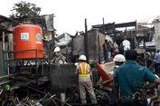 Bangunan yang Terbakar di Taman Kota Termasuk Liar
