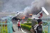 Kecewa Hasil Pemilu, Demonstran Bakar Pesawat di Papua Niugini
